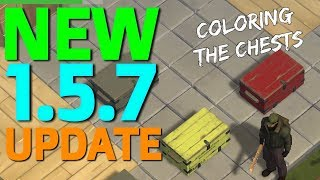 NEW 1.5.7 UPDATE (CUSTOM CHEST COLORS?!) - Last day on Earth: Survival