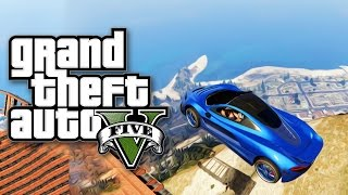 NAJLUDJI WALLRIDE I SKOK SA NAJVECE PLANINE ! Grand Theft Auto V - Lude Trke w/CALE thumbnail