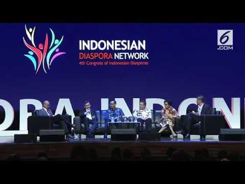 KONGRES DIASPORA INDONESIA KE 4 2017 FULL VIDEO