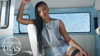 Смотреть клип Jennifer Dias Ft. Mika Mendes - Acerta