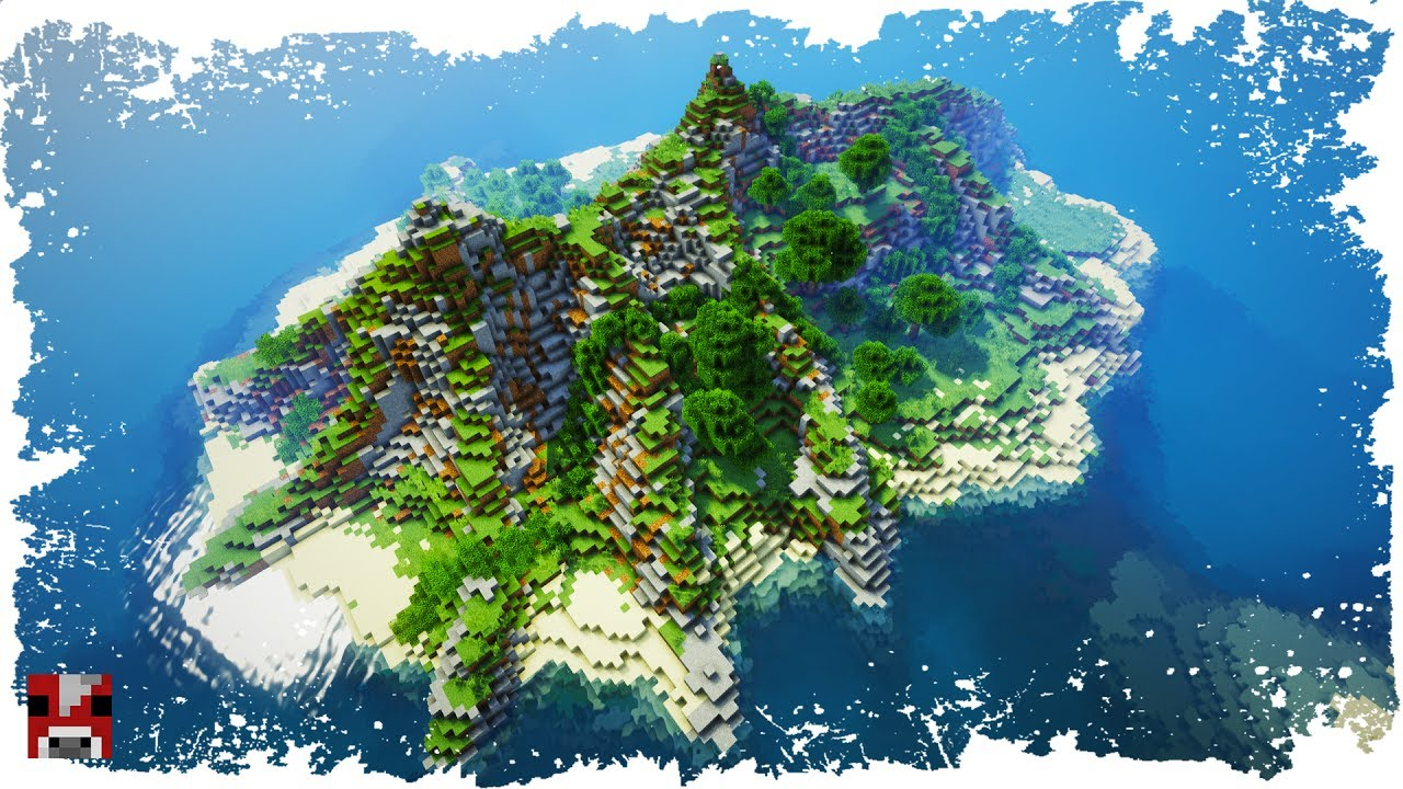 Minecraft Timelapse Tropical Islands World Download