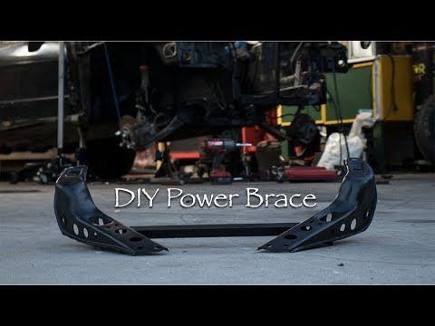 $25 DIY S13 240SX Power Brace Install - YouTube