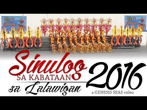 Bogo City - Sinulog sa Kabataan sa Lalawigan 2016 (Secondary)