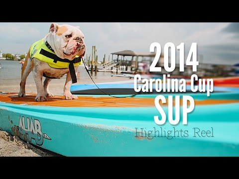 Awesome Carolina Cup Stand Up Paddleboard Race Highlight Reel in Wilmington, NC
