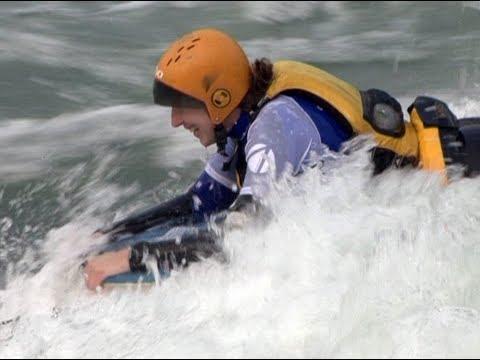 Bodyboarding  in Sunkosi River, Nepal http://filmshalatv.com/