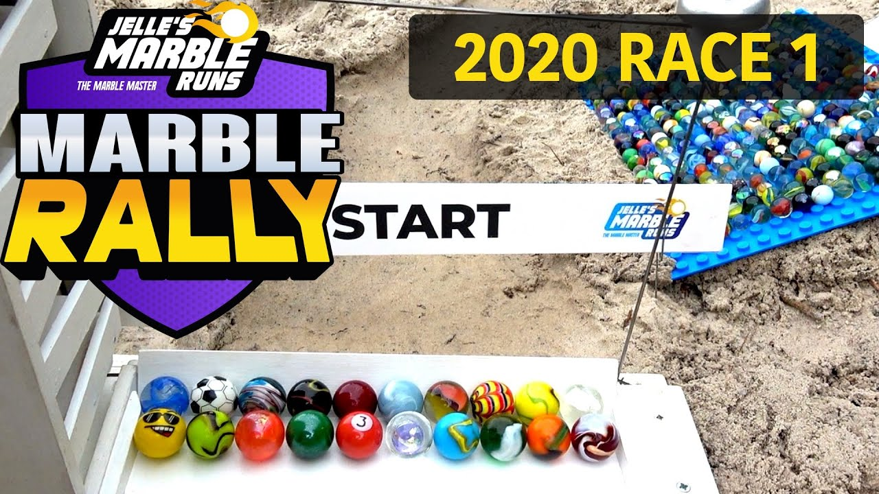 Marble Race in the SAND! Marble Rally 2020 Race 1