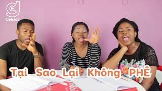 Khi Cee Jay dạy tiếng việt cho người nước ngoài