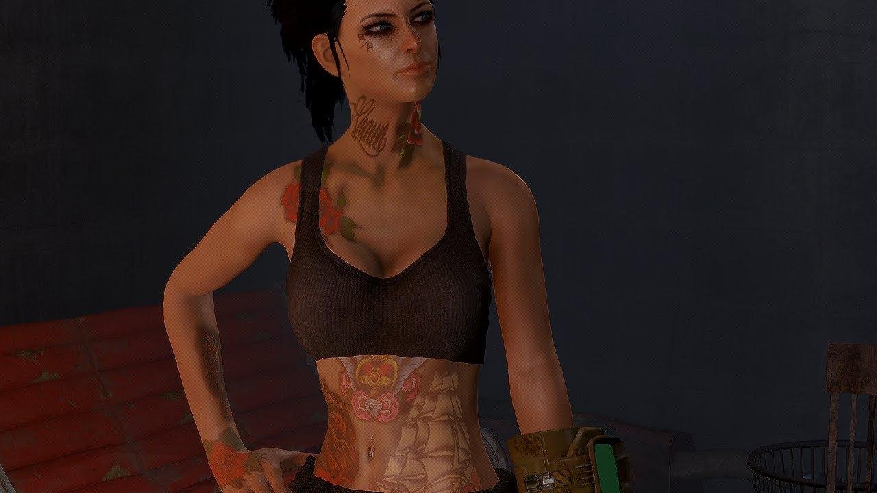 Fallout 4 Tattoos Mod Install Pc Female Cbbe