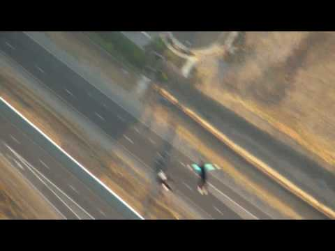 Balloon Jump Over Interstate 215