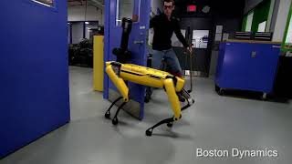 If the Boston Dynamics Spotmini could talk