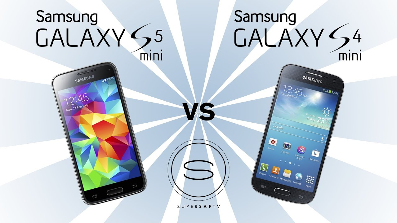 samsung galaxy s5 mini vs samsung galaxy s4 mini youtube. Black Bedroom Furniture Sets. Home Design Ideas