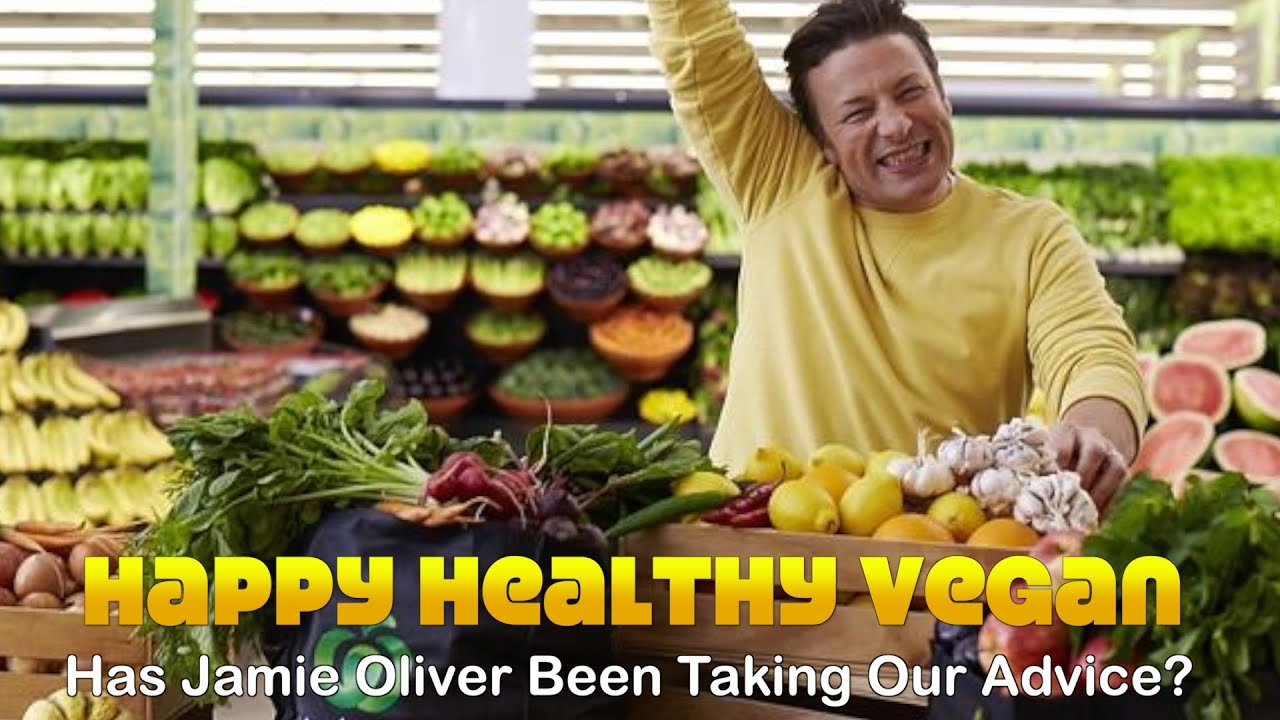 Did Jamie Oliver Take Our Vegan Diet Advice?