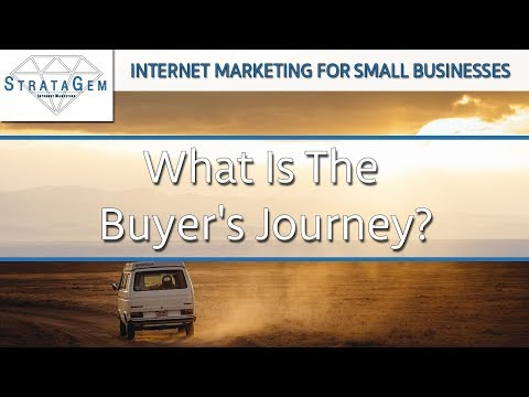 Internet Marketing Strategy For Small Businesses: What is the buyer's journey?
