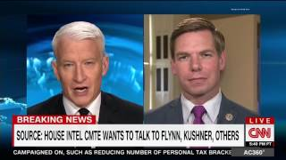 Rep. Swalwell on CNN AC360 discussing what's next in Trump-Russia investigation