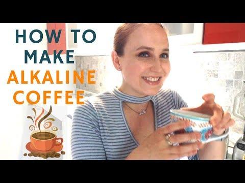 HOW TO MAKE And ENJOY ALKALINE COFFEE!!! Starch-Free Diet. Alkaline Electric Diet.