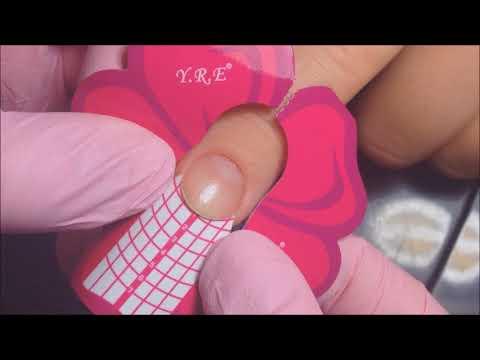 Маникюр наращивание ногтей покрытие гель лаком с нуля