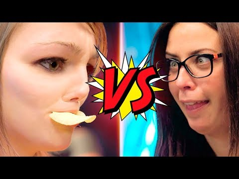 LunaDangelis vs Patty Dragona - Retos divertidos!