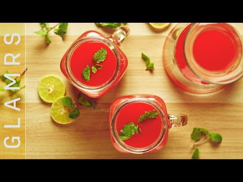 Hydrating Summer Cooler | Easy Watermelon Drink | Quick Mocktail Recipe