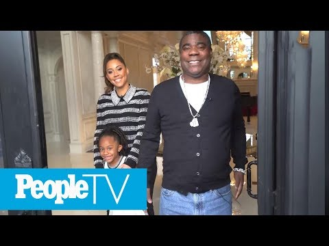Tracy Morgan's Incredible New Jersey Mansion Has A Bowling Alley And A Basketball Court  PeopleTV