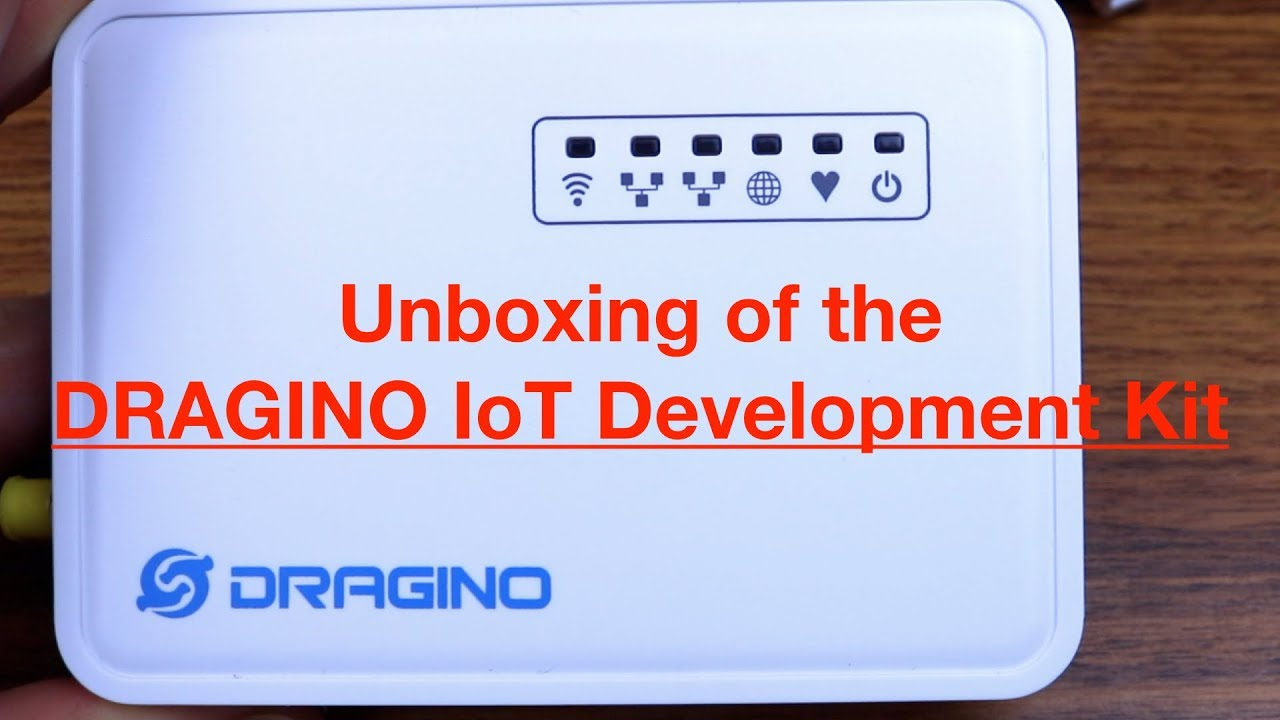 Unboxing of the DRAGINO LoRa IoT Development Kit
