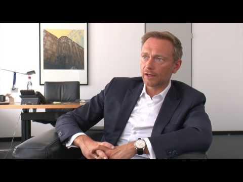 Peter Brandl im Gespräch mit Christian Lindner