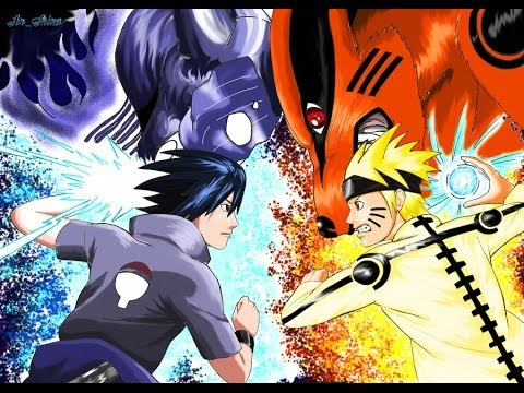 Naruto shippuden uns 3 full burst 9 youtube - Naruto as sasuke ...