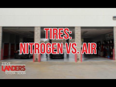 tires nitrogen vs air steve landers toyota in little rock arkansas youtube. Black Bedroom Furniture Sets. Home Design Ideas