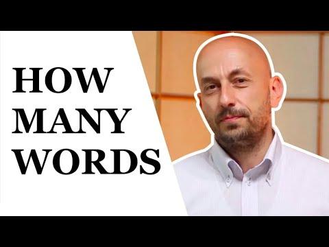 Defining Vocabulary = How Many Words Do We Need To Speak English Fluently