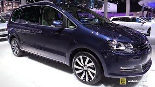 2016 Volkswagen Sharan 2.0 TDI - Exterior and Interior Walkaround - 2015 Frankfurt...