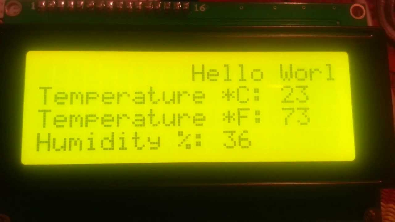 I2c Arduino Lcd Wiring I2c Free Engine Image For User