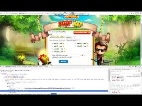 cách hack bang bang trên zing me mien phi - Hack xu game bang bang tren zing me