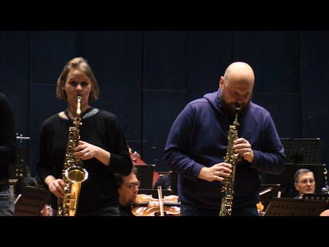 Probe zum 4. Sinfoniekonzert • Saxophonquartett: clair-obscur• Niederrheinische Sinfoniker