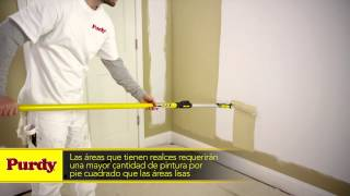 Cómo Pintar Con Rodillo | Herramientas de Pintura Purdy