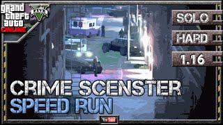 GTA 5 Online - Crime Scenester 1.16 - Speed Run [2:33] - SOLO HARD GTA V Lester Mission