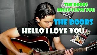 Como Tocar HELLO I LOVE YOU - THE DOORS Guitarra Tutorial