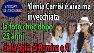 Ylenia Carrisi è viva ma invecchiata: la foto choc dopo 25 anni della figlia di Romina e Al Bano