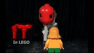 LEGO IT - Georgie meets Pennywise scene (horror brickfilm)