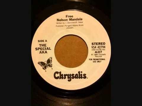 SPECIAL AKA  FREE NELSON MANDELA