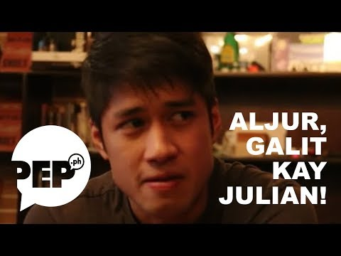 Why is Aljur Abrenica so angry at Julian Trono in this video?