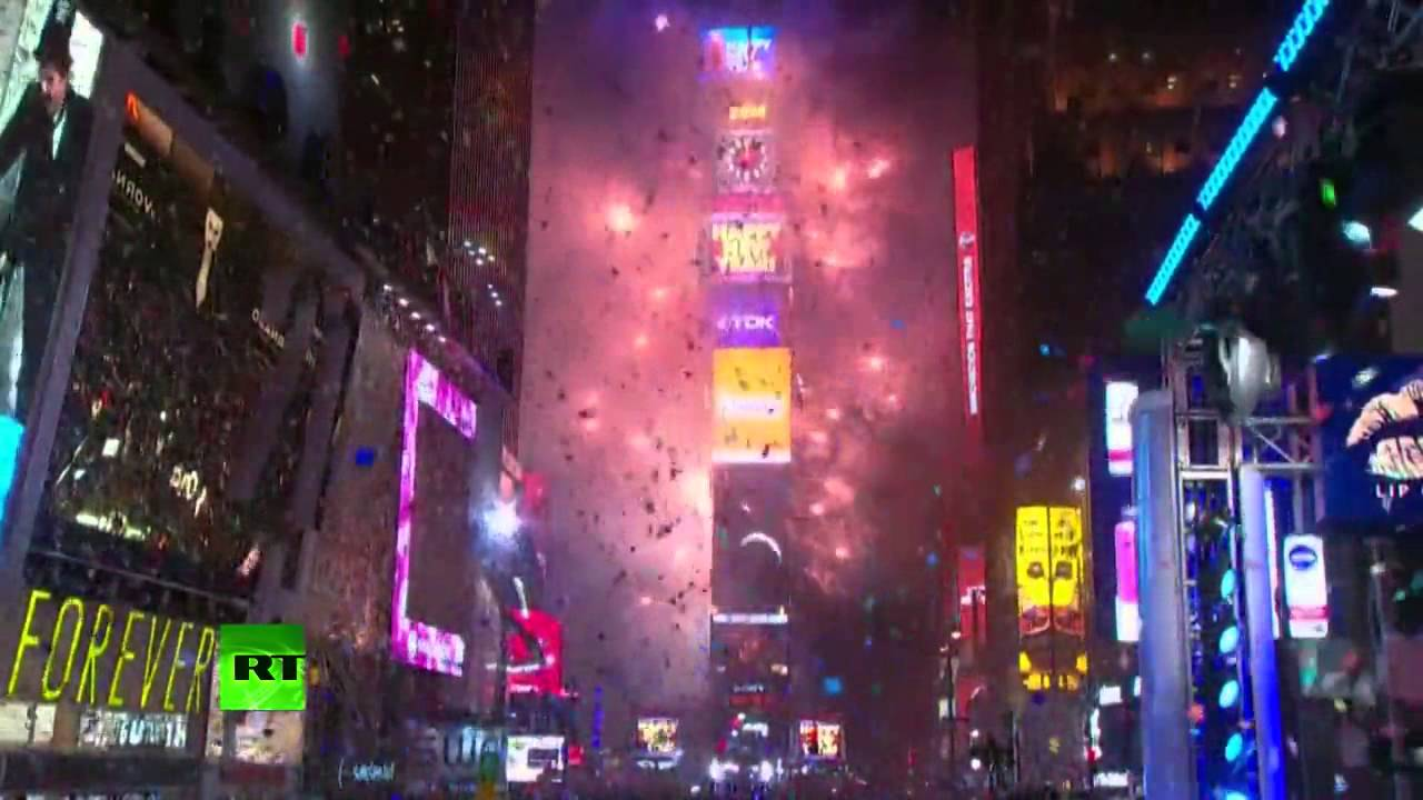 Times Square New Years Eve 2017