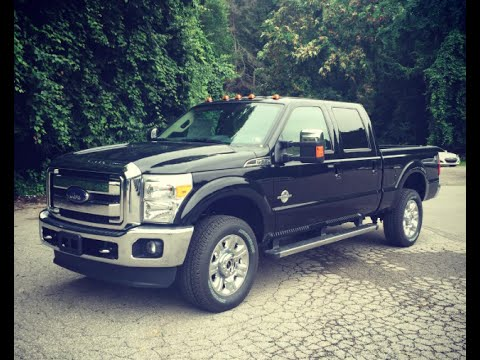 2016 Ford Super Duty F-250 Lariat Review - 6.7L Powerstroke Diesel