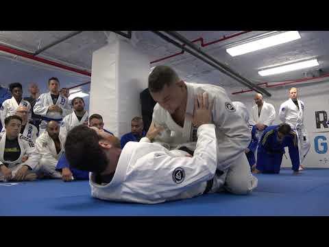 Roger Gracie visits Renzo Gracie Jiu-Jitsu Upper West Side