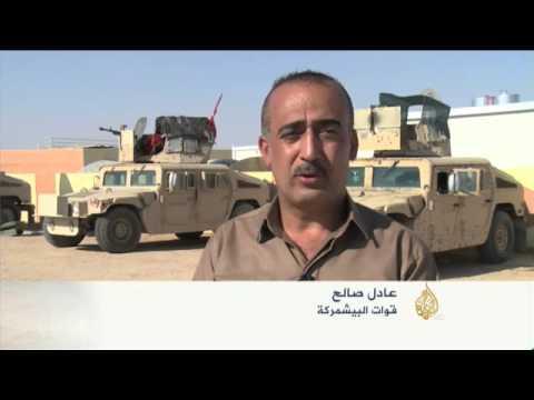 قوات البشمركة تستعيد قرى في محافظة ديالى