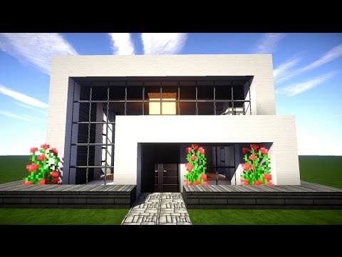 minecraft wir bauen das wei e haus 001 hd good mor doovi. Black Bedroom Furniture Sets. Home Design Ideas