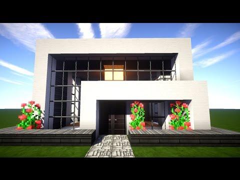 minecraft wir bauen das wei e haus 001 hd good mor. Black Bedroom Furniture Sets. Home Design Ideas
