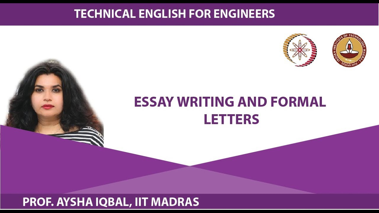 Letter writing essay