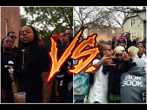 Black Disciples Vs Gangster Disciples(Gang Diss)