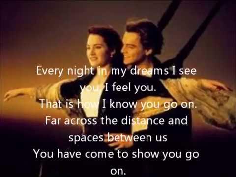 Download My Heart Will Go On I Titanic (Lyrics)