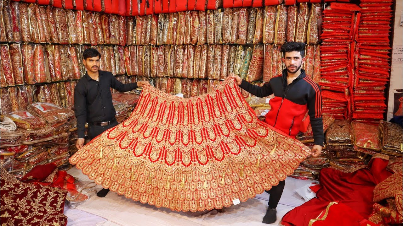 ब्राइडल लहंगा मैन्युफैक्चरर दिल्ली | Replica Lehenga Wedding Shopping