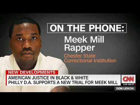 Rapper Meek Mill CNN interview with Don Lemon from Prison